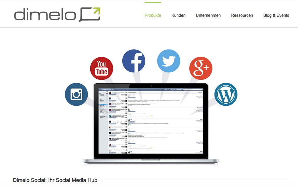 dimelo-Customer Engagement Lösung