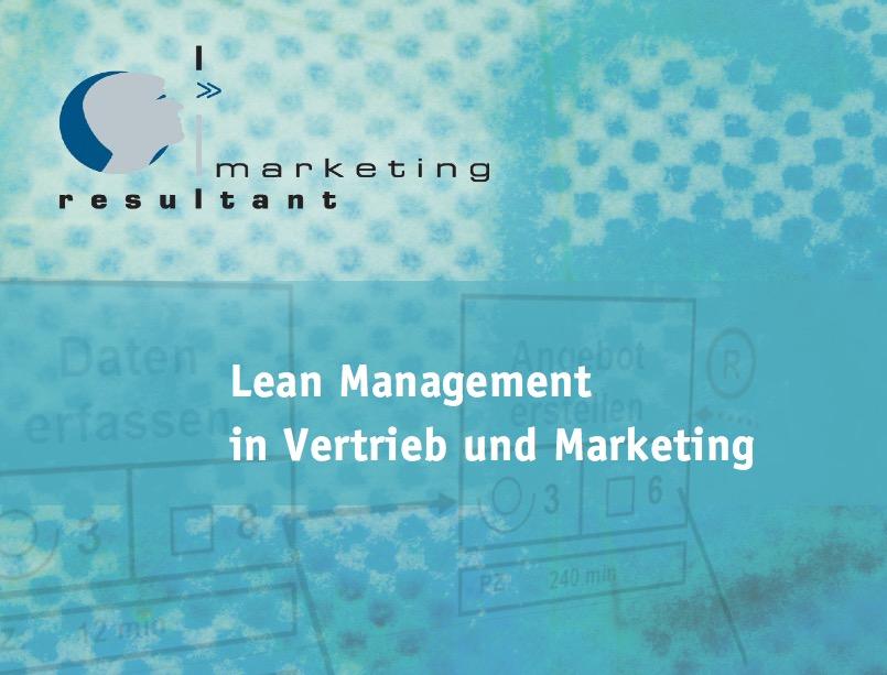 Lean Management im Vertrieb