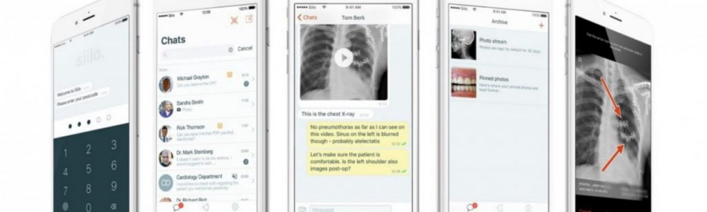 Secure Instant Messenger für das Gesundheitswesen von siilo