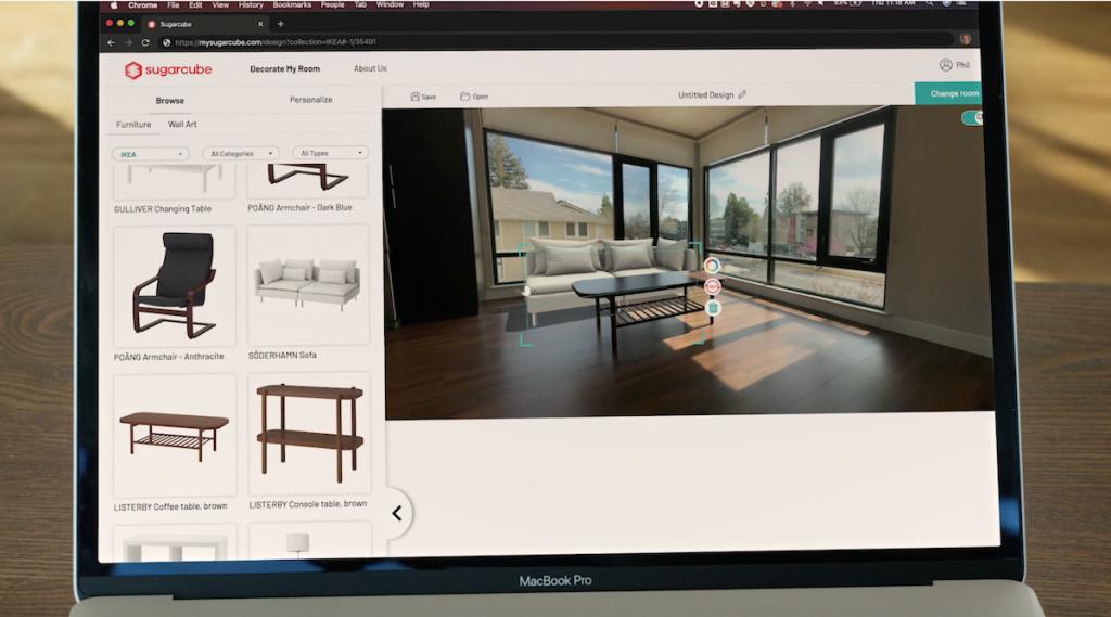 Wohnung einrichten mit Augmented Reality: IKEA setzt mit geomagical labs neue Maßstäbe