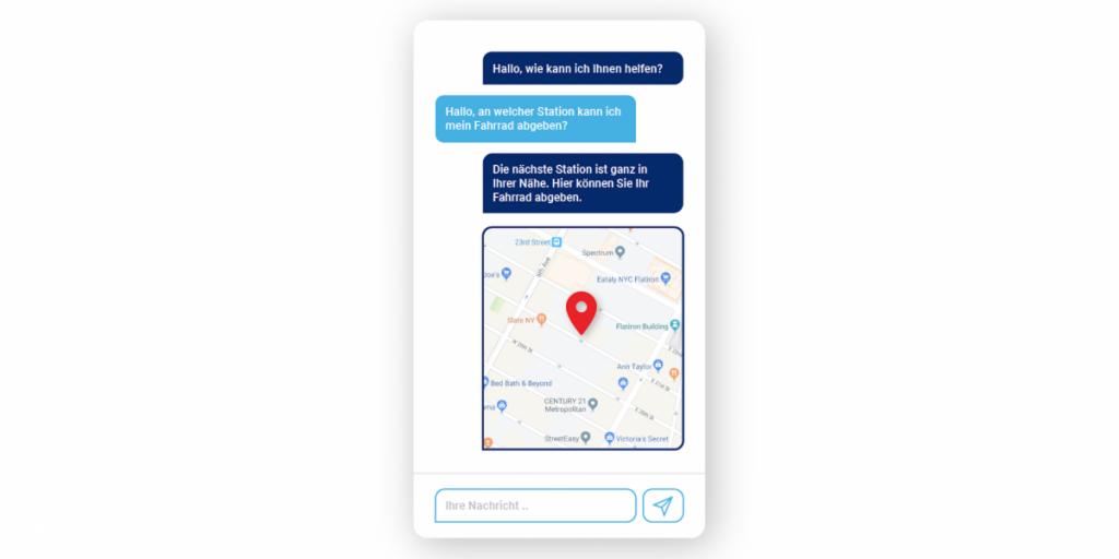 Der smarte OMQ Chatbot hilft Ihren Kunden sofort.
