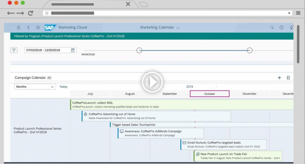 Marketing Automation mit der SAP Marketing Cloud