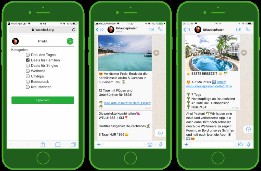 Instant Messenger in der Reisebranche https://v-i-r.de/2018/09/10/marketing-und-kundenservice-via-whatsapp-und-co/