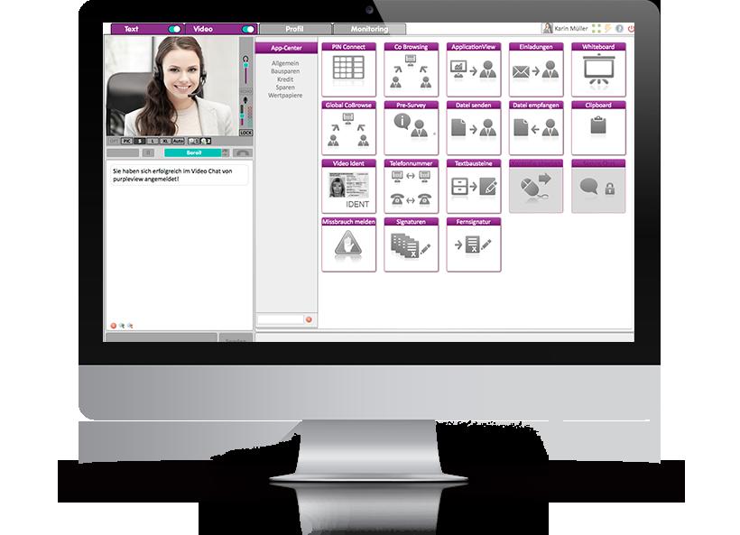 purpleview: verschlüsselte Videochat Lösung