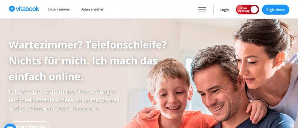 Mit digitalen Gesundheitsplattformen Kunden begeistern : Plattform vitabook