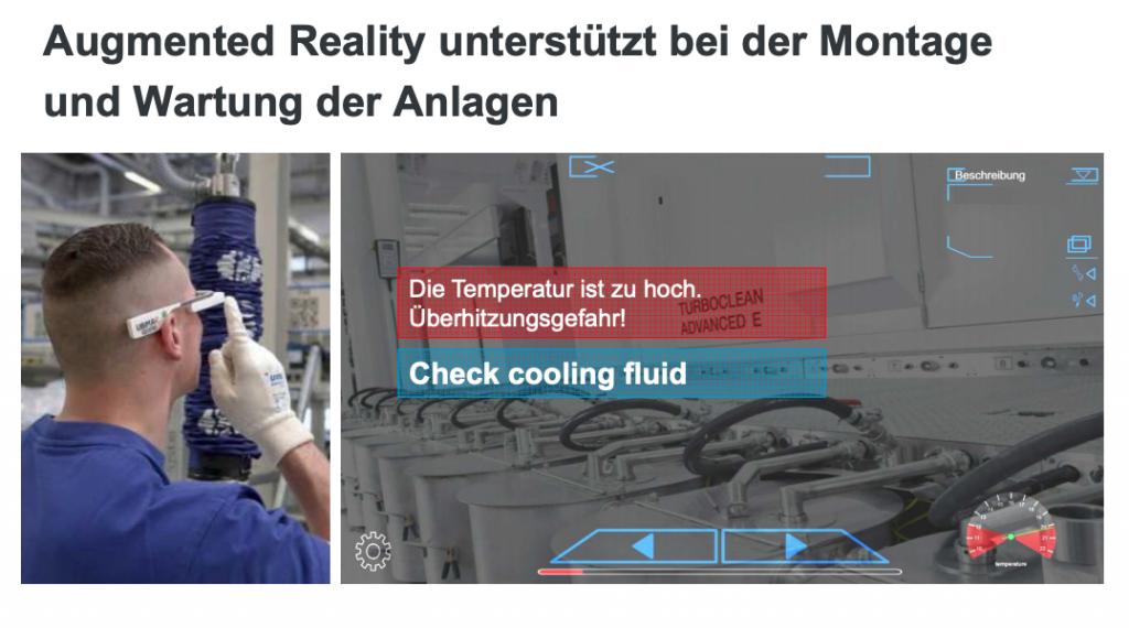Einsatz Augmented Reality im Kundenservice von Windmöller und Hölscher. Quelle: